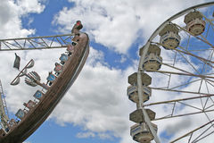 Freizeitpark. Lizenzfreie Stockbilder