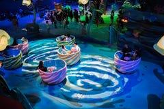 Freizeitpark Tokyos DisneySea in Tokyo, Japan stockbilder