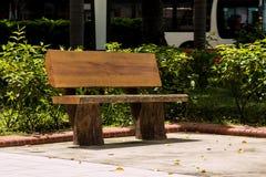 Freizeitstühle im Garten Stockfotografie