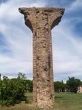Frejus aqueduct. One arch of the Roman aqueduct near Frejus Royalty Free Stock Photos