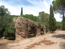 Frejus aqueduct Stock Photography