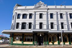 Fremantle大厦建筑学:老和新 免版税图库摄影