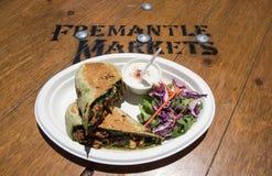 Fremantle市场:立即可食 免版税图库摄影