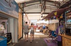 Fremantle市场:都市生活 免版税库存照片