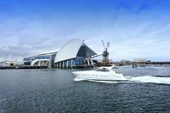 Fremantle海博物馆,澳大利亚西部。 库存照片