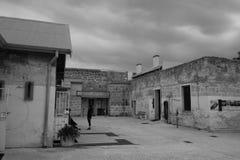 Fremantle监狱庭院 免版税图库摄影