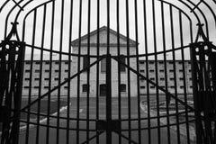 Fremantle监狱门和入口 免版税库存图片