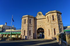 Fremantle监狱,一个世界遗产大厦在Fremantle 免版税库存图片