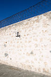 Fremantle监狱:篮球篮 免版税库存图片