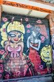 Fremantle,西澳州:街道绘画 免版税图库摄影