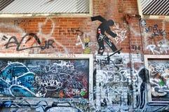 Fremantle, западная Австралия: Городское искусство Стоковое Изображение RF