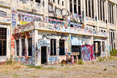 Fremantle: Abandoned Power House royalty free stock photos