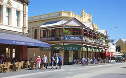 Fremantle Cappuccino Strip Royalty Free Stock Photography