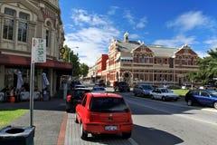 Fremantle gata, västra Australien Fotografering för Bildbyråer