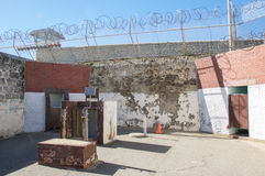 Fremantle-Gefängnis-sicheres Yard Stockfotos