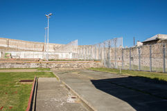 Fremantle-Gefängnishof Stockbilder
