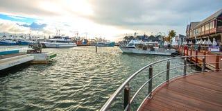 Fremantle harbour in Australia Stock Photos