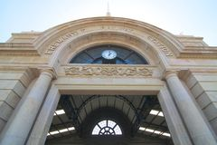 Fremantle järnvägsstation Royaltyfri Fotografi