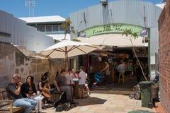 Fremantle Market Courtyard stock photography