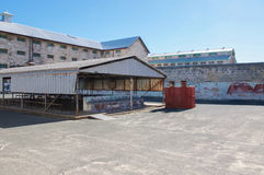 Fremantle Prison and Concrete Yard Royalty Free Stock Photography