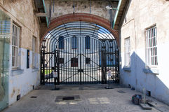Fremantle Prison: Gated Entrance Stock Images