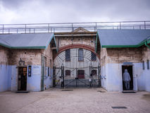 Fremantle Prison Perth Australia. Metal sculpture in Former Australian prison, now a public Museum. Perth, Western Australia 2016 Royalty Free Stock Photography
