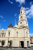Fremantle Town Hall, Western Australia. Fremantle Town Hall is a town hall located in the portside city of Fremantle, Western Australia stock photo