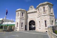 FREMANTLE VÄSTRA AUSTRALIEN - November 16, 2014 - det berömda Fremantle gamla fängelset fotografering för bildbyråer
