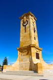 Fremantle war memorial on a blue bird day Stock Photo