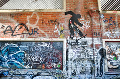 Fremantle, Western Australia: Urban Art royalty free stock image