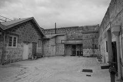 Fremantle więzienia podwórze Zdjęcia Stock