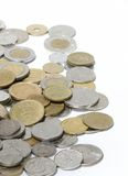 Fremde Münzen lizenzfreies stockfoto
