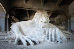Fremont błyszczka, zorza most, Seattle, WA zdjęcia royalty free
