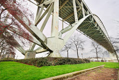 Fremont Brücke Lizenzfreie Stockfotografie