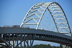 Fremont Bridge Portland Royalty Free Stock Image