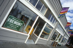 Fremont District, the Center of the Universe, Seattle, WA Royalty Free Stock Photo