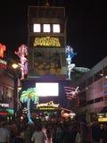 Fremont-Straßenerfahrung Las Vegas Stockbilder