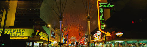 Fremont Street Experience Stock Photo