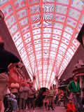 Fremont Street Experience stock photography