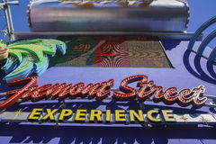 The Fremont Street Experience Royalty Free Stock Photography