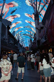 Fremont Street Experience, Las Vegas, USA Royalty Free Stock Photo