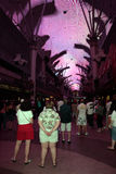 Fremont Street Experience, Las Vegas, USA Stock Photography