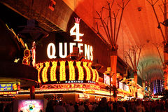 Fremont Street Experience, Las Vegas, USA Stock Photo