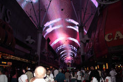 Fremont Street Experience, Las Vegas, USA Royalty Free Stock Images