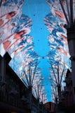 Fremont Street Experience, Las Vegas, USA Stock Photos