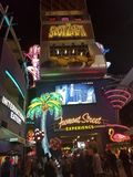 Fremont street stock photography