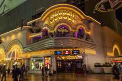Fremont Street in Las Vegas, Nevada Royalty Free Stock Images