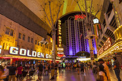 Fremont Street in Las Vegas, Nevada Royalty Free Stock Photo