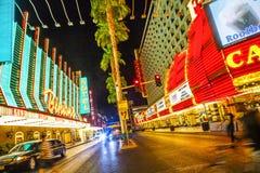 Fremont Street in Las Vegas, Nevada Royalty Free Stock Photo