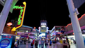 Fremont Street - Las Vegas, Nevada Stock Images